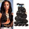 7A Adina Hair Peruvian Virgin Hair Body Wave 4 Bundles Peruvian Body Wave Human Hair Bundles Unprocessed Virgin Hair Extension