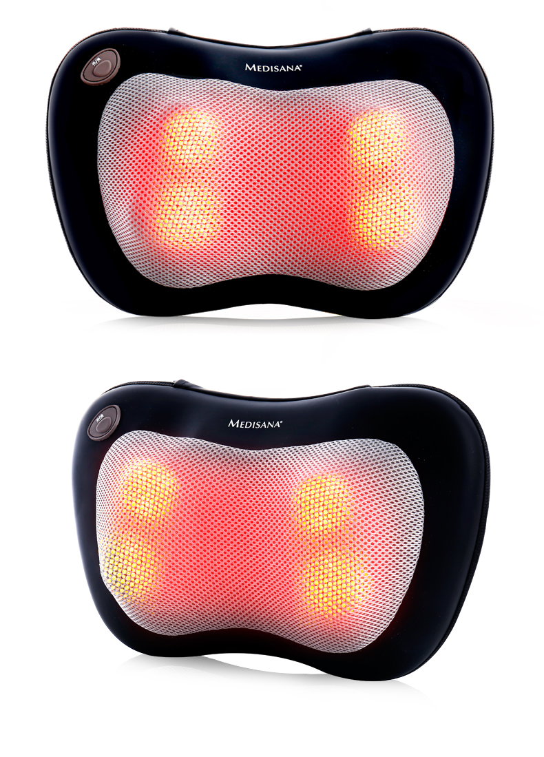 Houlder And Cervical Vertebra Massager Multi-Function Body Electric Waist Shoulder Car Home Dual-Use Pillow