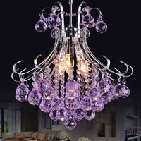 Longree New house decor LED chandelier modern living room wholesale crystal chandelier modern hotel lobby chandelier light