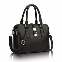 SUNNY SHOP Fashion Women Leather Handbags Business Women Messenger Bags Famous Brand Crossboday Bag High Quality