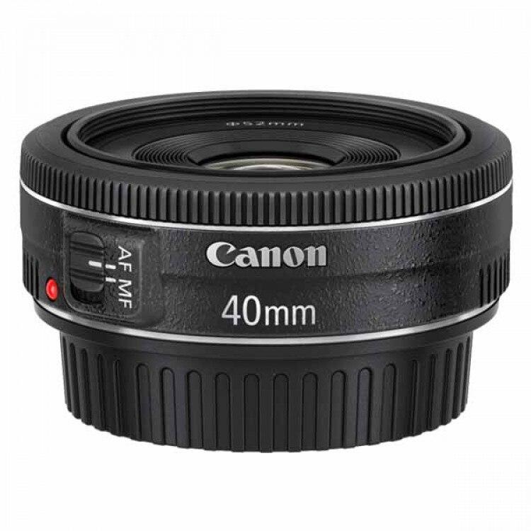 Canon EF 40mm f/2.8 STM Lentille Pour 600D 650D 700D 750D 760D 200D 1300D 60D 70D 80D 7D T4 T5 T3i T5i