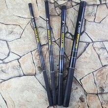 Портативная Удочка Rock 2,1 М 2,4 М 2,7 М 3,6 М 4,5 м телескопическая удочка для морской рыбалки спиннинговая Удочка из углеродного волокна Сверхлегкая жесткая