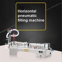G1WY Liquid Filling Machine Semi Automatic Pneumatic Filler Glycerinum Oil Shampoo Water Pump Lubricant Filling Piston