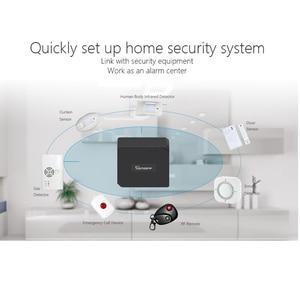 Image 3 - 3 Pcs Rivelatore di Fumo Senza Fili 433 MHz Automazione Fuoco Protezione di Sicurezza Sensore di Allarme per Smart Home, Casa Intelligente, il Lavoro con Ewelink APP