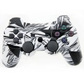 Wireless Controller Double Vibration Joystick SIXAXIS Gamepad Joypad For Playstation 3 PS3 (Black Puzzle )