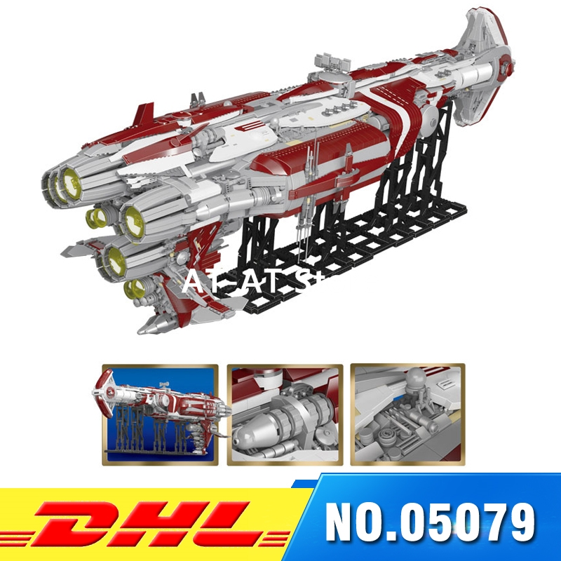 2018 DHL 7956 PCS Lepin 05079 Star Set War Series The MOC Zenith Old Republic escort cruiser Set Building Bricks Toys for Boys rollercoasters the war of the worlds
