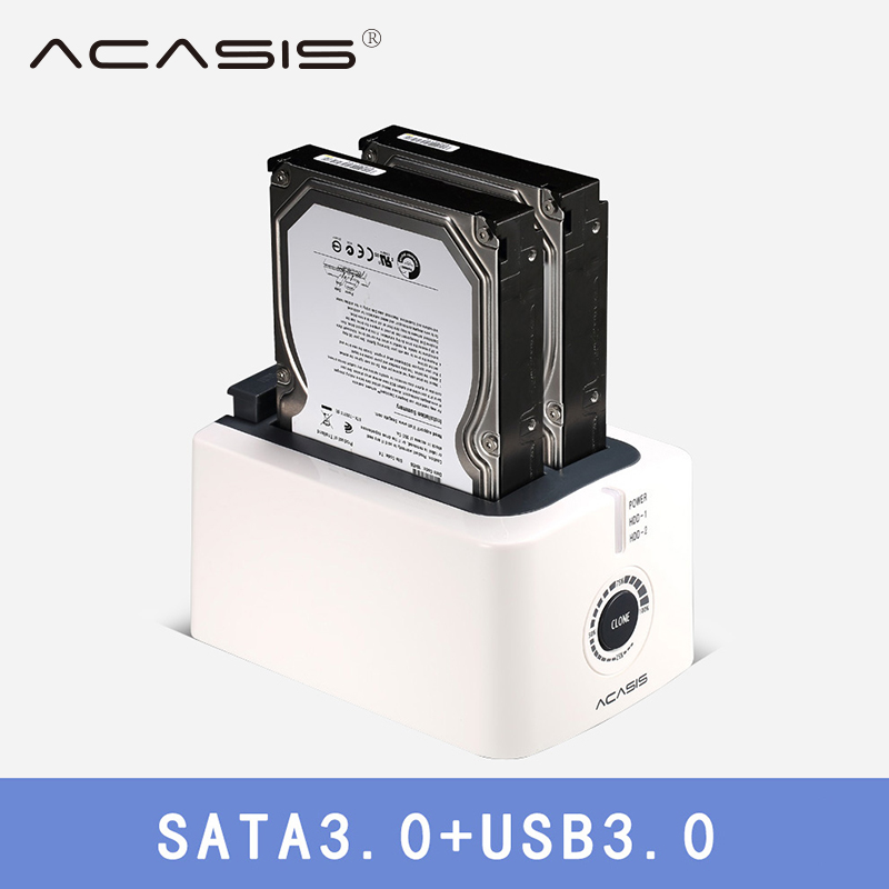 ACASIS USB 3 0 SATA3 Hard Drive Docking Station for 2 5 inch or 3 5