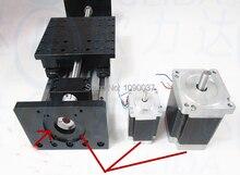 Высокой Точности С ЧПУ GX 1610 Ballscrew Подвижный Стол полезный ход 300 мм + 1 шт. nema 23 шагового двигателя XYZ оси Линейного движения