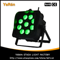 Batterij Aangedreven LED DJ Par Licht DMX Draadloze RGBWA + UV LED Lamp Par Kan LED Dj Wassen Licht DJ verlichting