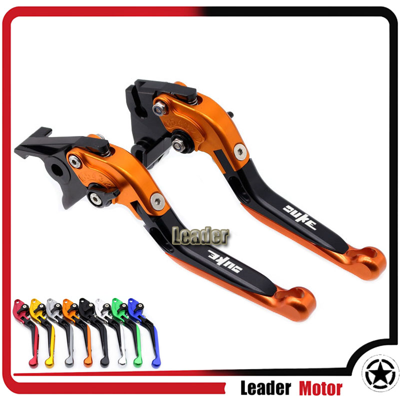 For KTM 690 Duke DUKE SMC DUKE SMCR 2014-2017 Motorcycle Accessories Folding Extendable Brake Clutch Levers 2017 hot motorcycle adjustable folding extendable brake clutch levers motorbike brake for ktm duke 690 smc smcr 2014 2015 2016