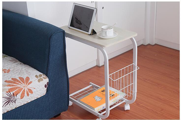 Портативный разноцветное цели подвижные анти скольжения Тетрадь компьютерный стол для ноутбука с регулируемой высотой - 6