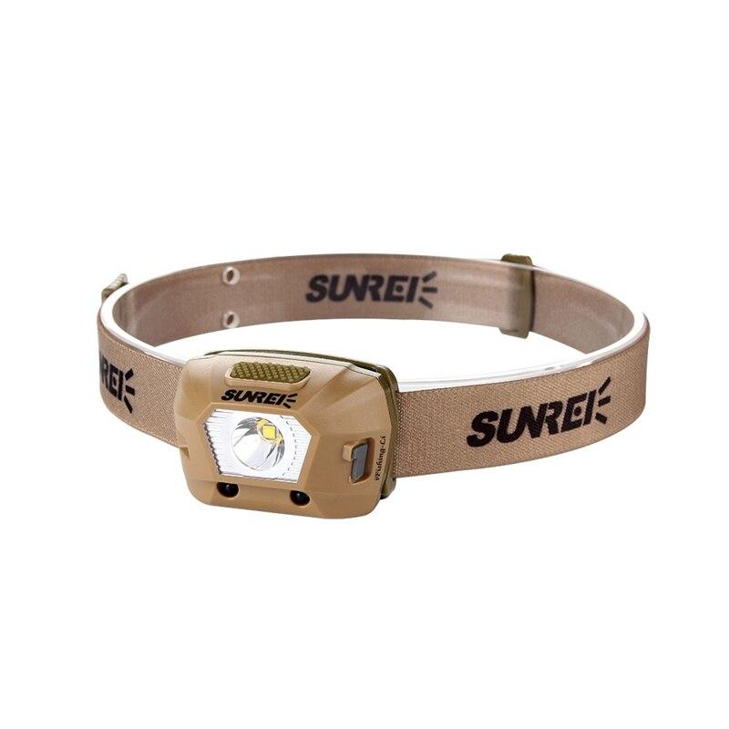 SUNREX iFishing-Li LED Smart Sensor Headlamp Headlight XPG3 S3 1800mAh Rechargeable 4 Modes Outdoor FishingSUNREX iFishing-Li LED Smart Sensor Headlamp Headlight XPG3 S3 1800mAh Rechargeable 4 Modes Outdoor Fishing