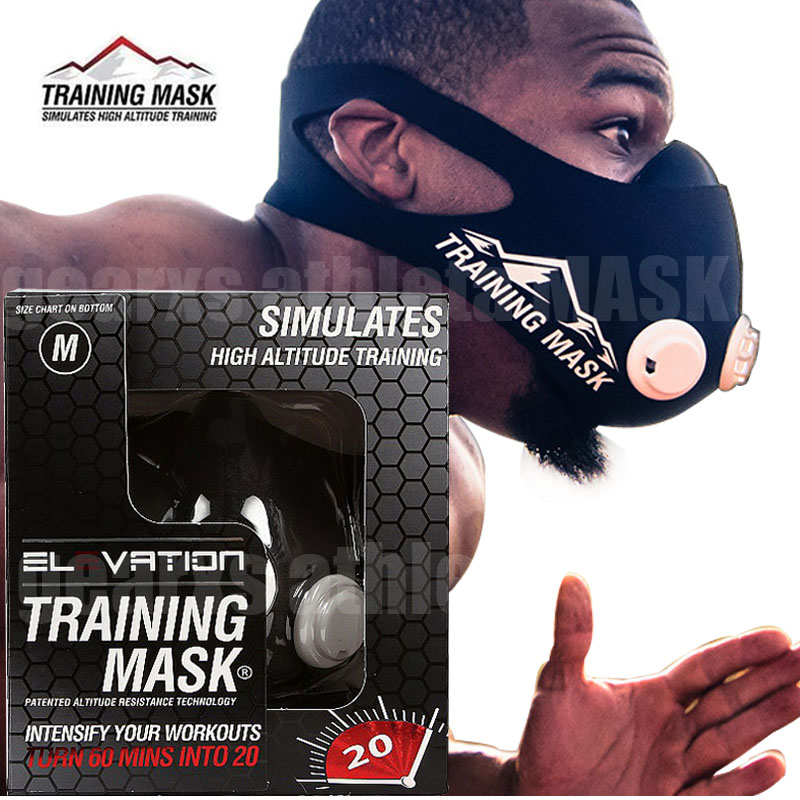 2017 Newest Elevation Training Mask 2.0 High Altitude High-pressure Breathing Fitness Outdoor Sports 2.0 Training Mask
