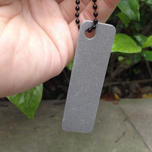 1 PCS Mini Pocket Diamond Sharpener Stone Steel Sharpener for Outdoor Tools Knife Fish Hook FingerNail