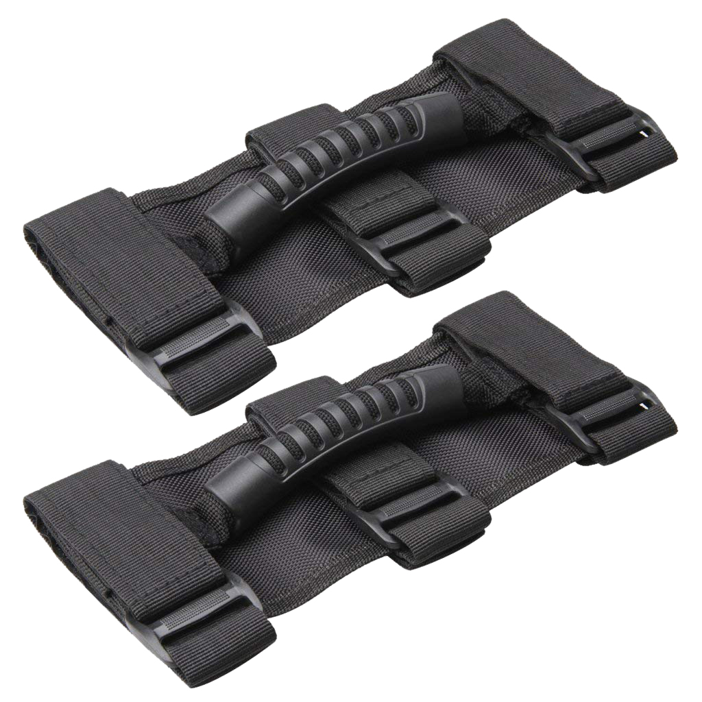 2 Pcs Universal Grab Handles Grip Unlimited Roll Bar Side For 2
