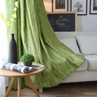 Curtain For Living Or Bedroom Solid Pattern High Quality Chenille Fabric High Shading Rate Classic Design