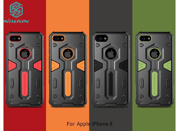 NILLKIN Defender 2 Панцири Aegis жесткая тонкий антидетонационных чехол для iPhone 8/8 плюс 2 в 1 гибридный Чехол для iphone 8/8 Plus кожи 1 шт.