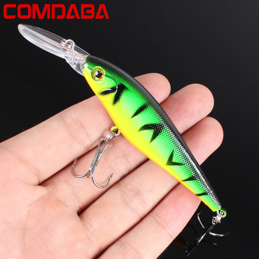 1Pcs Minnow 11cm 10.5g fishing lure crankbait iscas artificiais Fishing wobblers 6# hook 3D eyes leurre Fishing Tackle 1pcs 12cm 11 5g fishing lure bass bait minnow lures 6 hook iscas artificiais para pesca crankbait fishing tackle zb34