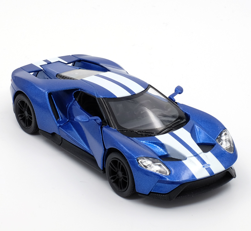 High Simulation Supercar Scale Alloy Pull Back  Ford Gt Carscollection Metal Model Toysfree Shipping Incasts Toy Vehicles From Toys