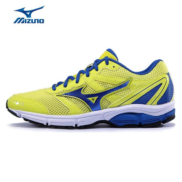MIZUNO Sport Sneakers Men's Shoes WAVE IMPETUS 2 Running Shoes DMX  Technology Cushioning Running Shoes J1GE141305