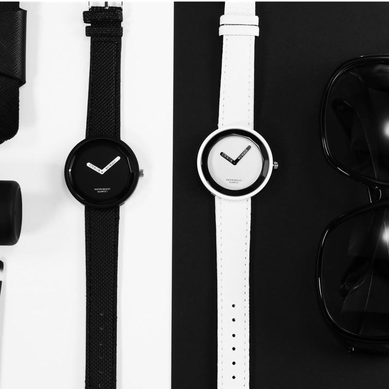 Hot Sale Fashion Women's Watches Leather Ladies Watch Women Watches Young Girl Watch Simple Clock reloj mujer relogio feminino 4