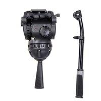 Miliboo M18 профессионального вещания фильм жидкости голову и Release Plate нагрузки 15 кг с 100 мм чаша Размеры для штатива камеры стенд