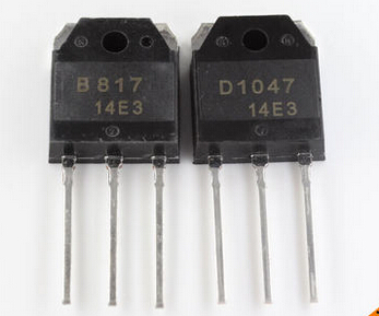 10pcs/lot 5Pairs 2SD1047 2SB817 (D1047 B817)  Transistors In Stock