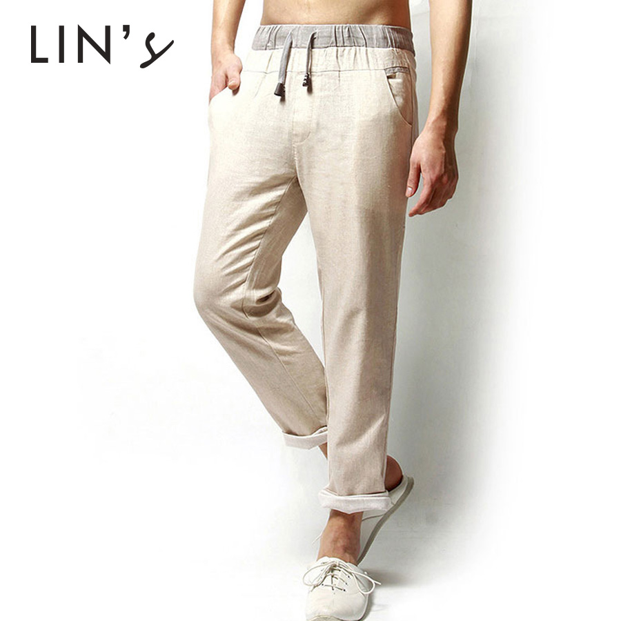 Online Buy Wholesale mens linen pants sale from China mens linen ...