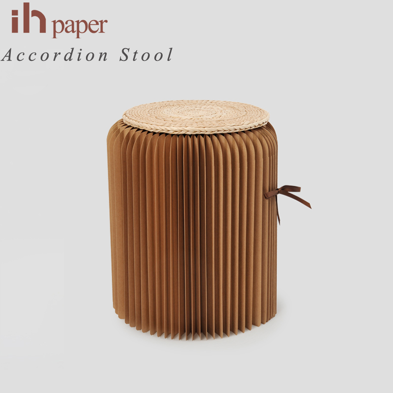 Original Ihpaper Brand  Exclusive Optional Natural Collapsible Collapsible In Stock Customzied Foldable Chair