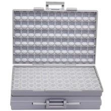 AideTek BOXALL пластиковая коробка для инструментов крепление SMD SMT 1206 0805 0603 0402 компоненты электронные бусины ящики и органайзеры 2 коробки