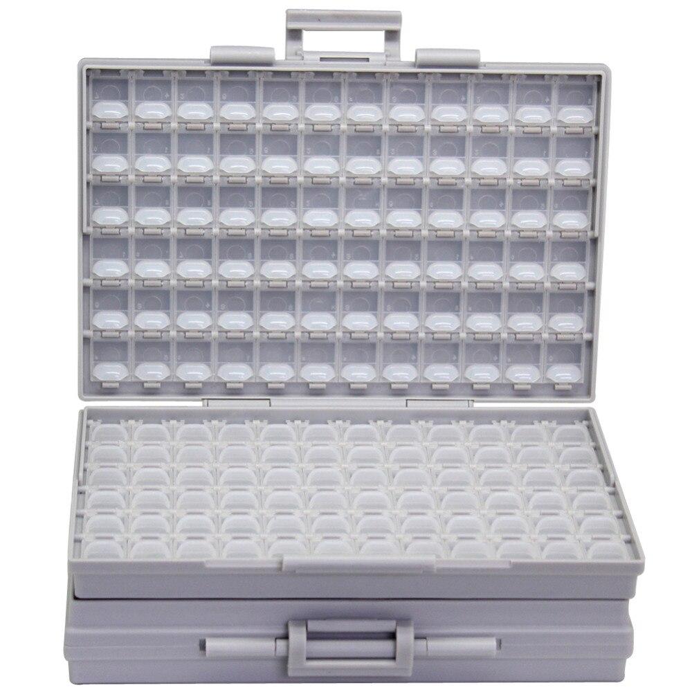 AideTek BOXALL корпус коробка 4 поверхностного монтажа SMD SMT 0805 0603 0402 компоненты электроники Чехлы для хранения и органайзеры 2 BOXALL