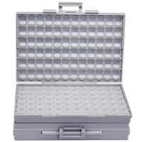 AideTek BOXALL de plástico de la caja de herramientas de montaje SMD SMT 1206, 0805, 0603, 0402 componentes electrónica cuentas de almacenamiento de los casos y los organizadores 2BOXALL