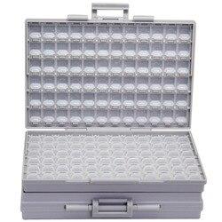 AideTek BOXALL kunststoff toolbox montieren SMD SMT 1206 0805 0603 0402 komponenten Elektronik Perlen Lagerung Fällen & Organisatoren 2 BOXALL
