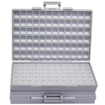 AideTek BOXALL plastic toolbox mount SMD SMT 1206 0805 0603 0402 components Electronics Beads Storage Cases & Organizers 2BOXALL - DISCOUNT ITEM  0% OFF All Category