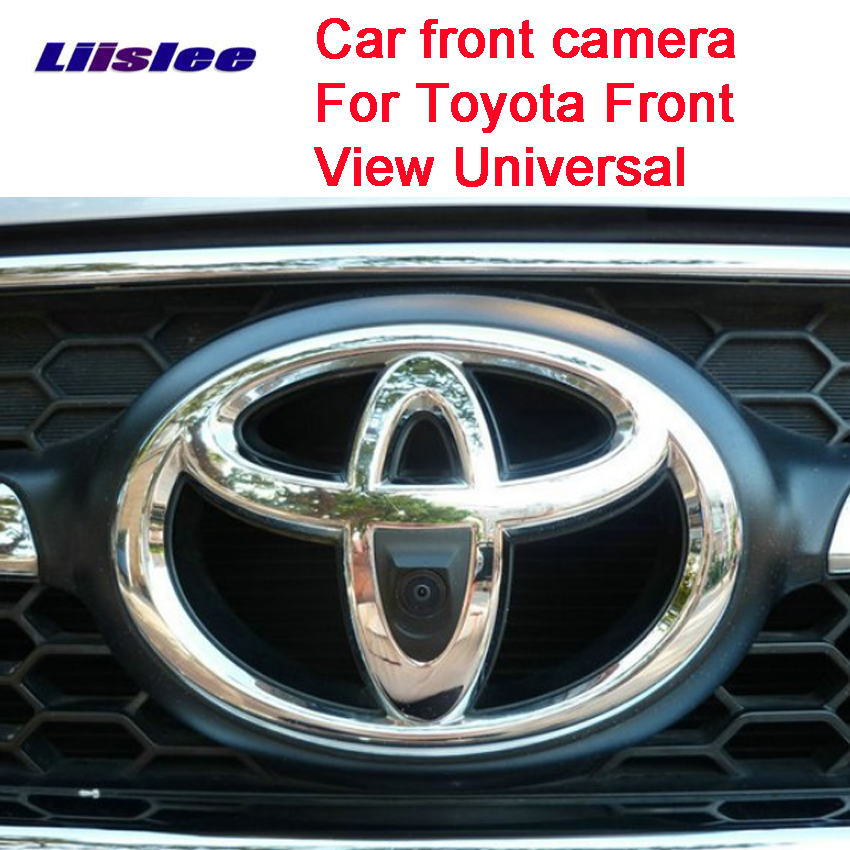 Car Special Front HD High Quality Camera For Toyota Front View Universal Car Front Camera Waterproof Night Vision CCD