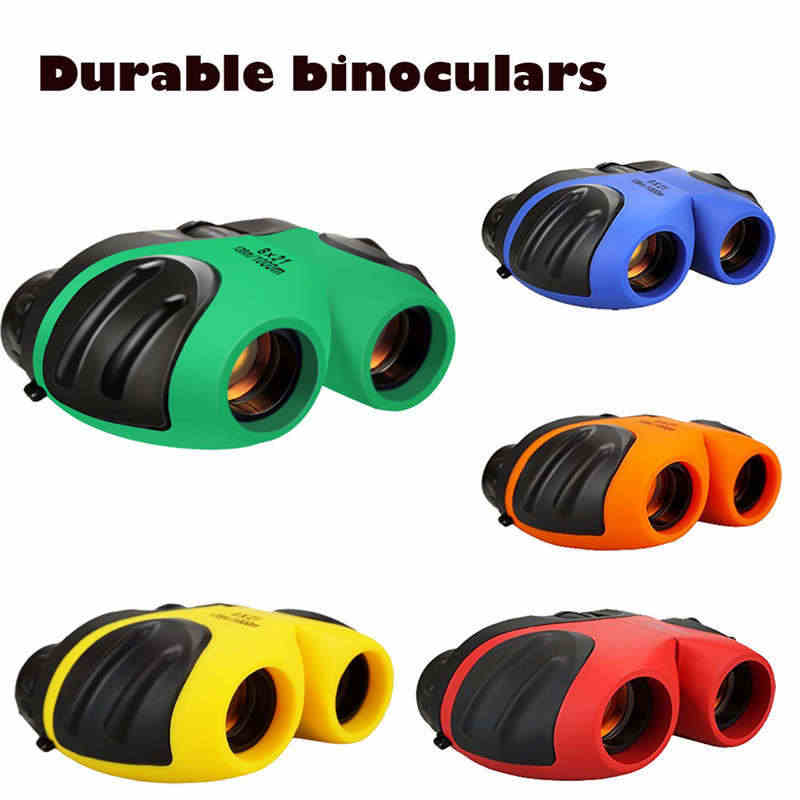 Kids Binoculars Scientific telescope toy Mini Compact Waterproof Binocular for Kids telescope Best Gifts