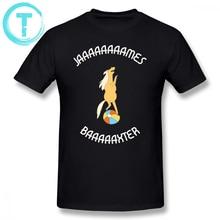 Adventure Time T Shirt Jaaaaaaaames Baaaaxter T-Shirt Casual Man Tee Shirt Graphic Plus size Short-Sleeve Cotton Fun Tshirt plus short sleeve graphic tee