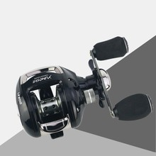 Battlesea Fishing Reel Carbon Fiber Ultralight 162g Dual Brake 7.7kg Max Drag 6.2:1 Gear Ratio Lake Baitcasting