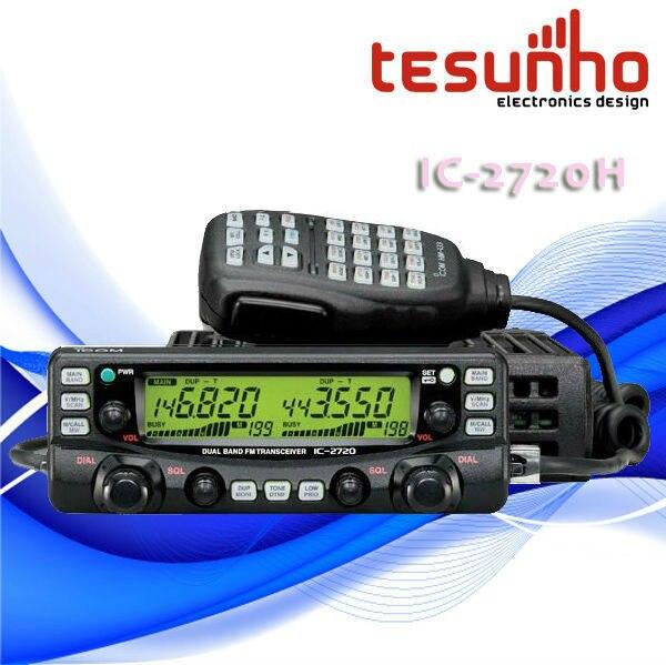 TESUNHO IC-2720H DUAL BAND BASE RADIO MOBILE WALKIE TALKIE EMERGENT ALARM