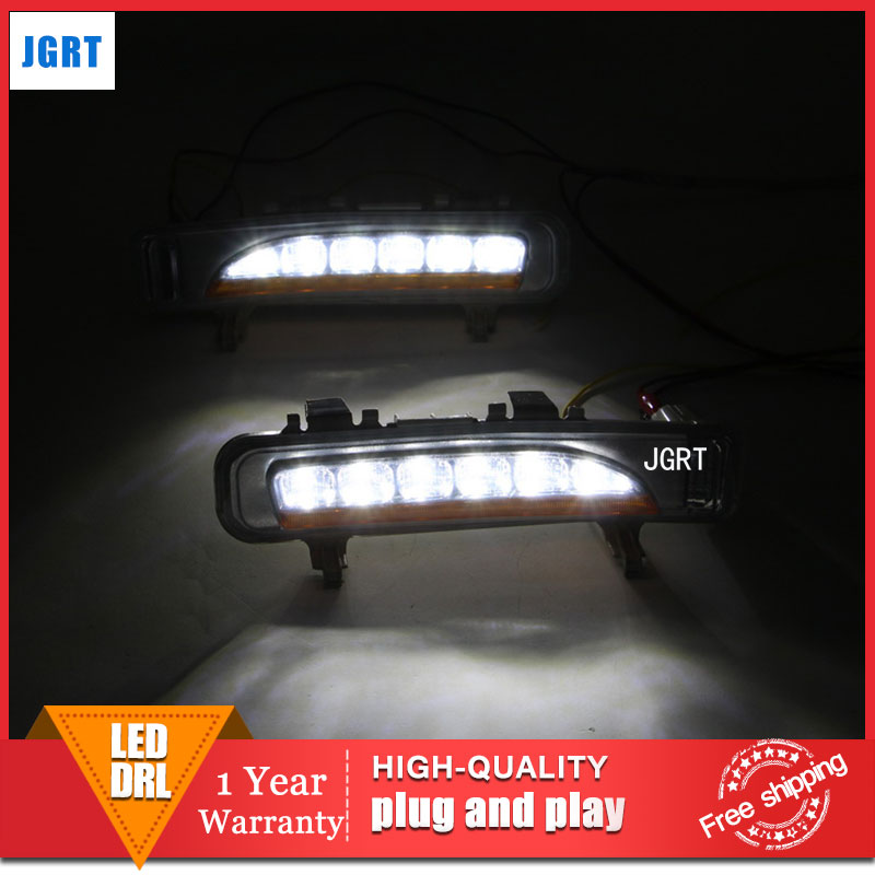 car 2009-2013 styling For Ford Edge LED DRL For Edge led fog lamps daytime running light High brightness guide LED DRL for lexus rx gyl1 ggl15 agl10 450h awd 350 awd 2008 2013 car styling led fog lights high brightness fog lamps 1set