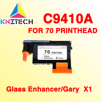 1x compatible for HP70 C9410A Z3100 Z3200 Gray Gloss Enhancer Printhead image