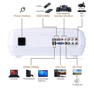 Image 2 - WZATCO CTL60 안드로이드 9.0 와이파이 5500 루멘 풀 HD 휴대용 TV LED 프로젝터 1080P 4K 비디오 게임 홈 시네마 용 HDMI LCD 비머