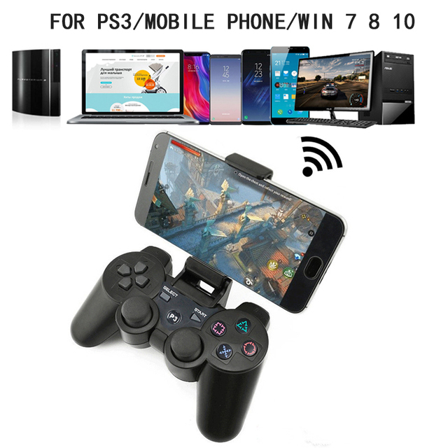 Controller For PS3 / PC /Android Mobile Phone, Wireless Bluetooth Gamepad For SONY Playstation 3 Dualshock Game Console Joystick