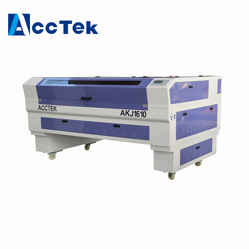China manufacture New 80w small CNC CO2 Laser Cutting Machine Price Competitive in Wood Routers from Tools