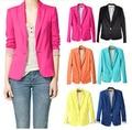 NEW 2017 spring auturn women suit blazer foldable brand jacket blazer feminino refresh blazers