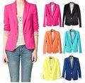 NOVO 2017 primavera auturn mulheres terno blazer dobrável marca jacket blazer feminino atualizar blazers