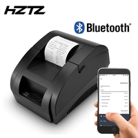 Zjiang 58mm Bluetooth Receipt Printer Wireless Pos Thermal Printer For Android iOS Mobile Phone Windows Support Cash Drawer