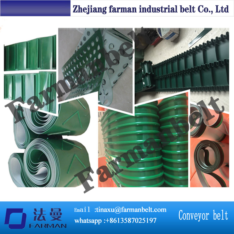 pvc/pu conveyor belt clips connect, button to contact or hot welding conveyor belt small belt conveyor band carrier pvc line sorting conveyor for bottles food customized moving belt rotating table sgz ssja8d