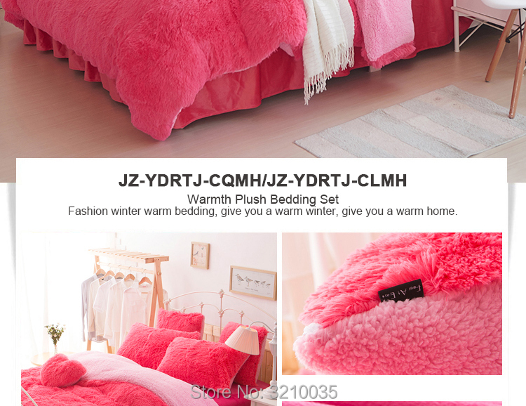 HTB1g6vLdPgy uJjSZK9q6xvlFXa4 - Velvet Mink or Flannel 6 Piece Bed Set, For 5 Bed Sizes, Many Colors, Quality Material
