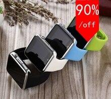 Bluetooth Smart Uhr Smartwatch sport uhr Tragbare Armbanduhr Für Android Phone Support-sim-karte Kamera PK GT08 DZ09 11
